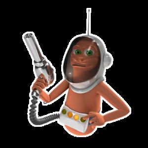 OglyZOR product character
